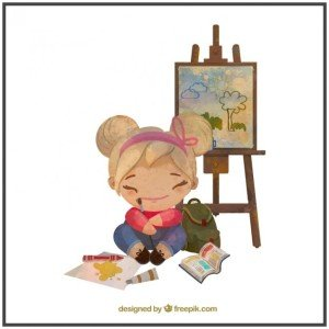watercolor-painter-little-girl_23-2147545715