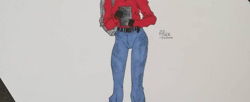 Fan art d'Alice : Merci Marie !